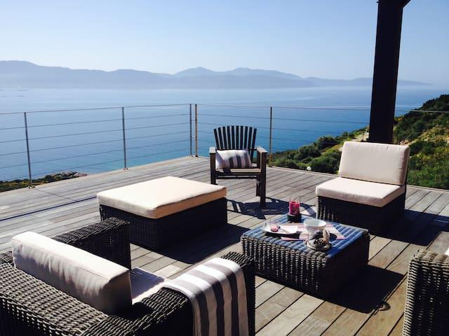 Villa vue mer exceptionnelle - Sagone - Hus