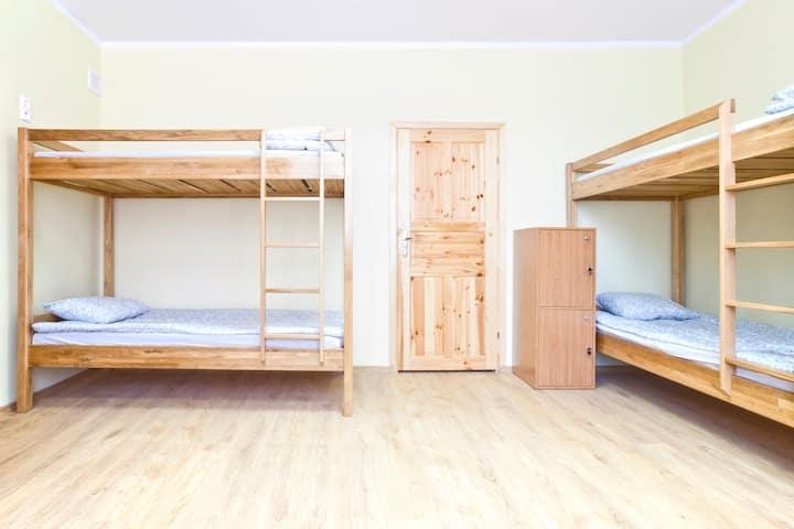 Hostel4u Bed in 6-Bed Female Dormitory Room