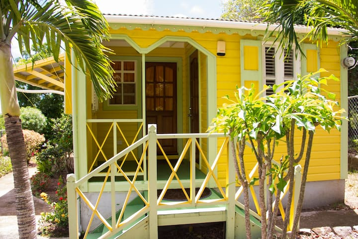 The Yellow Cabin Nevis - Nevis - Talo