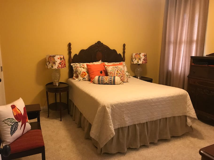 Queen Bedroom with attached bath