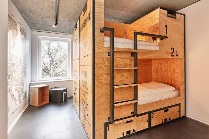 1 Bett-Gemeinsames Zimmer-mit 6,8 oder 10 Gästen A