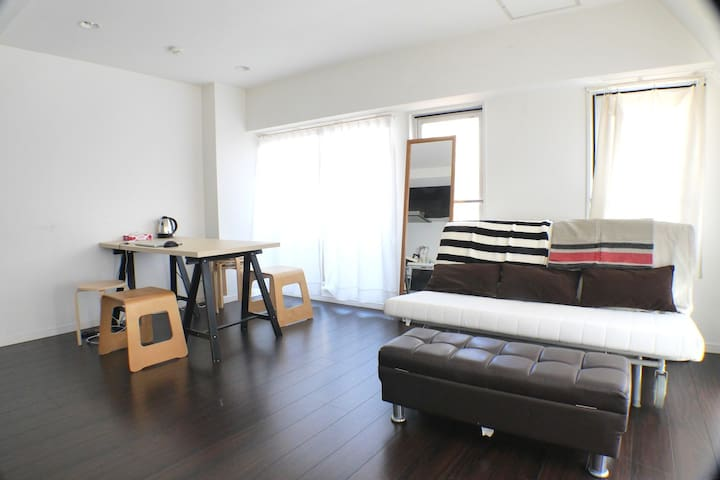Shibuya #5 Great room 5min from Sta - Shibuya - Apartemen