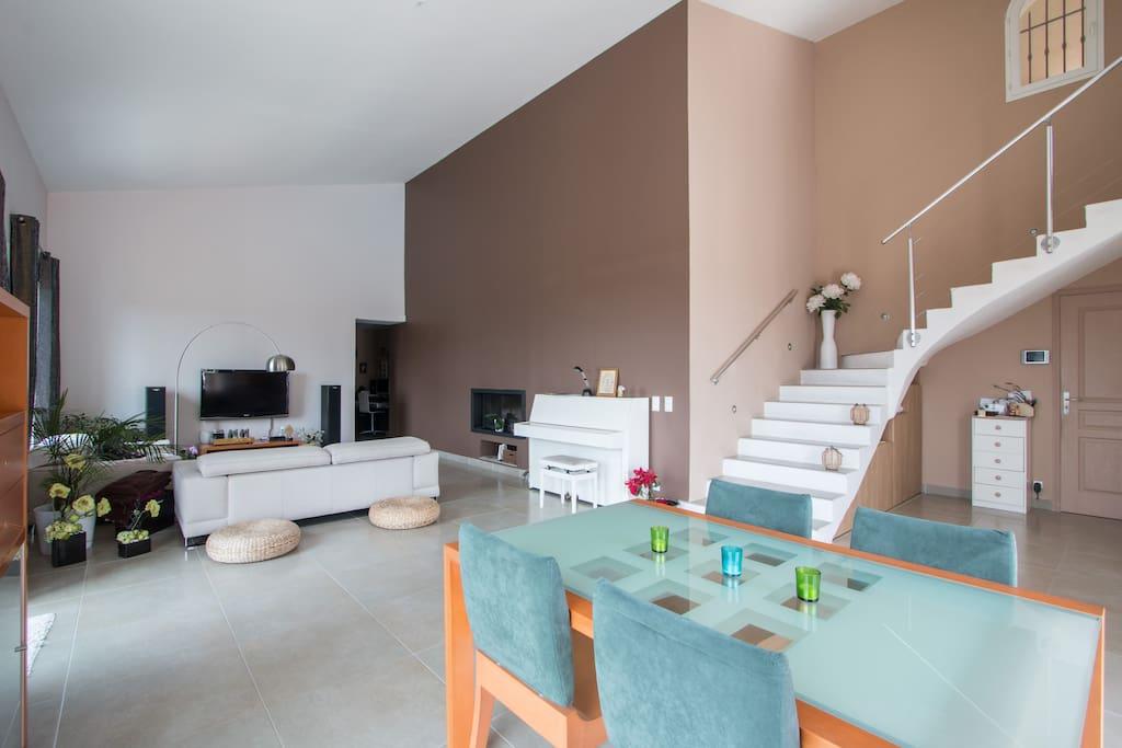 Salon de 50 m2