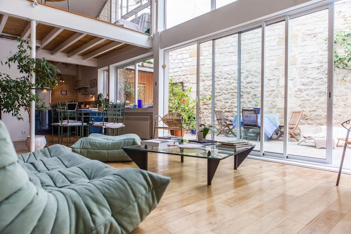 Loft with its private swimming pool - Bordeaux - Loft