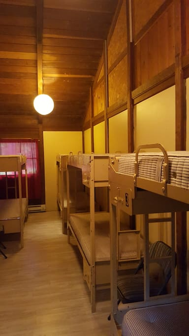 rooms with bunks!
