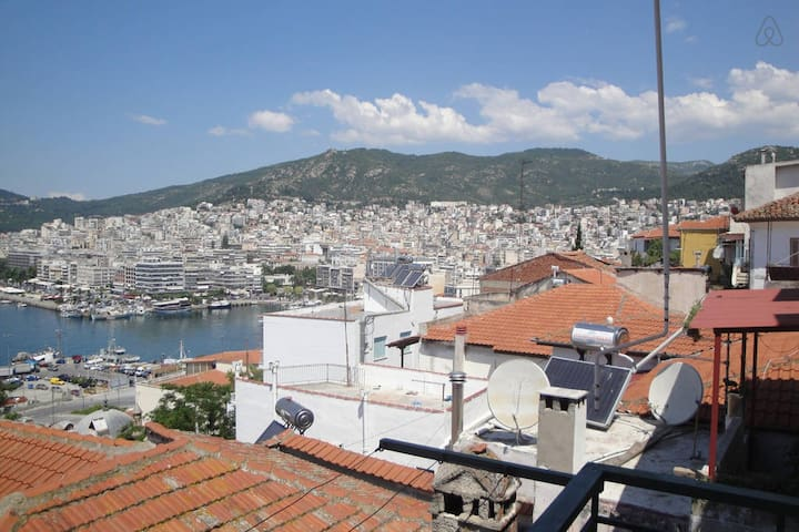 Great view apartment in Old town - Kavala - Apartamento