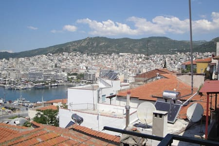 Great view apartment in Old town - Kavala - Daire
