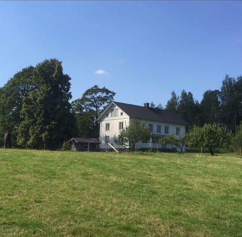 Wonderful big house - near lake Fryken in Värmland