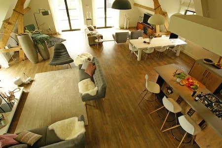 Luxe eerste verdieping van boerderij. - Erlecom - Wohnung