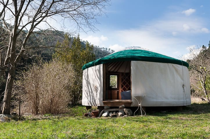 The yurt of the two rivers - Sanilhac