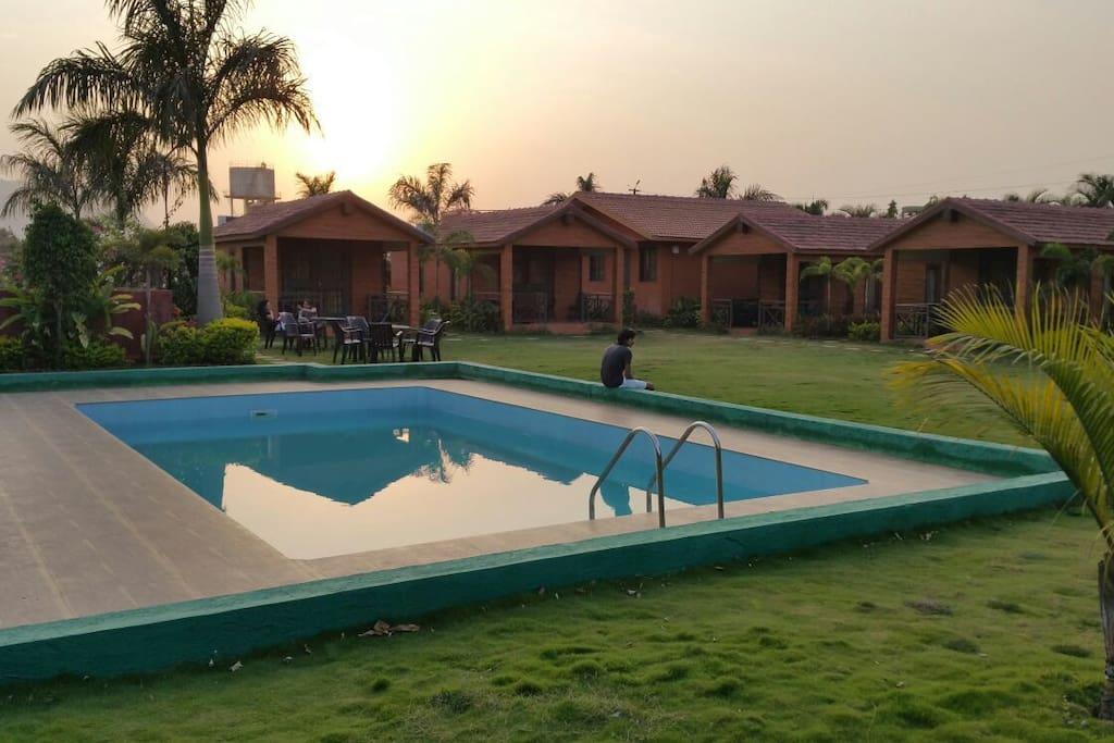 Meher Villa Cabins For Rent In Lonavala Maharashtra India