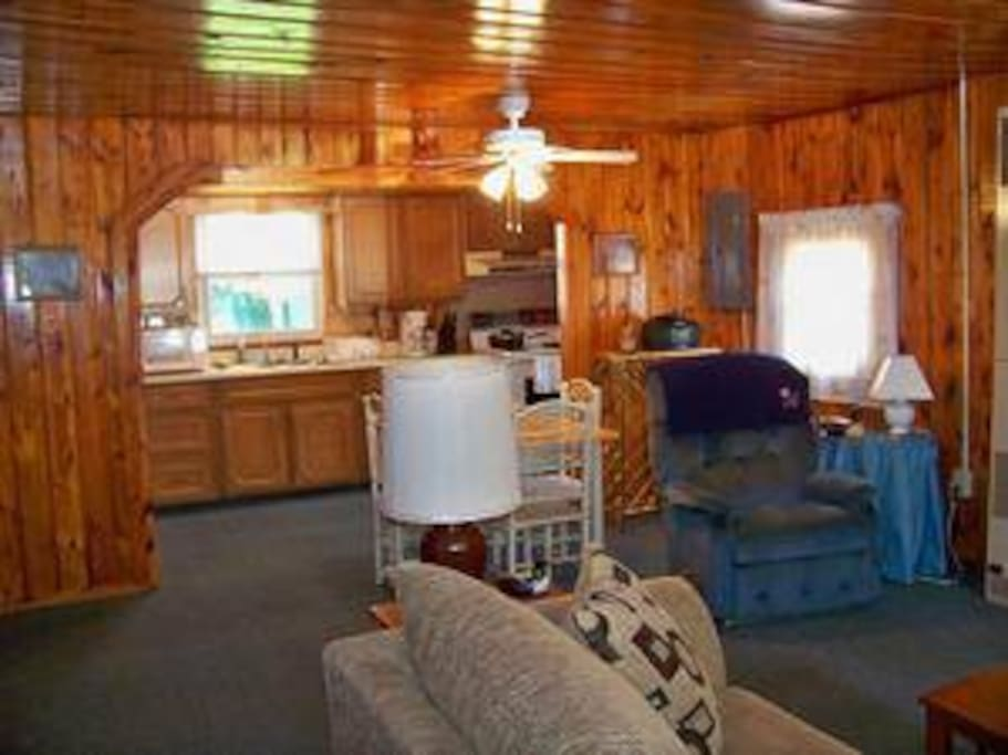 Built in the 50's, the cabin is full of character and charm!