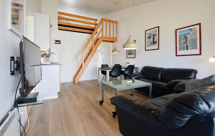 Holiday apartment with 2 bedrooms on 65m² in Ringkøbing