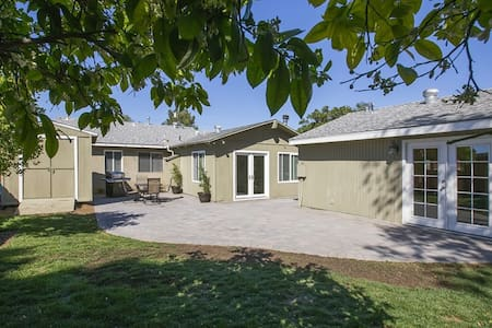 Spacious Guesthouse 10mi. from Downtown SD/Beaches - San Diego - Guesthouse