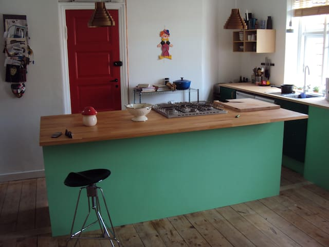 Spacious apartment with a stove - Copenhagen - Apartment