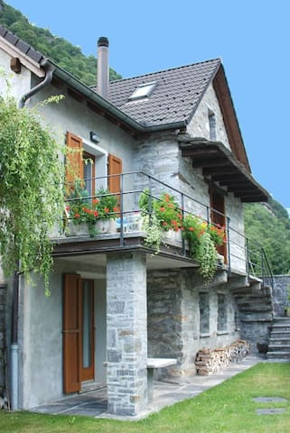 Casa Fontanella -  Valley Verzasca - Brione (Verzasca) - Ház