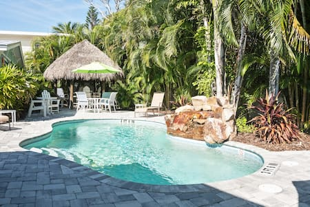 5 Star Villa; Great Pool & Patio, Steps to Beach
