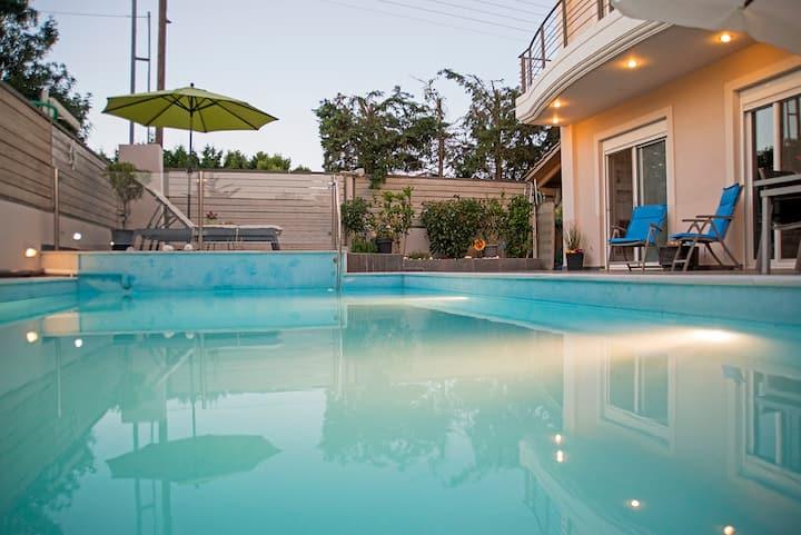 Villa Nefeli Lagonisi Athens Riviera