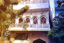 Entrance of our home