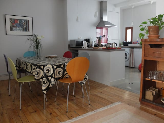 Bel appartement privé pour 2 (+1P)  - Grenoble - Apartment
