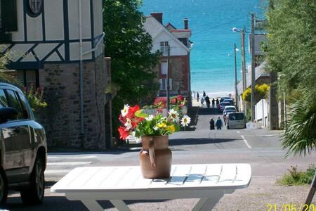 Appartement 100m plage  vue mer - Pléneuf-Val-André - Wohnung