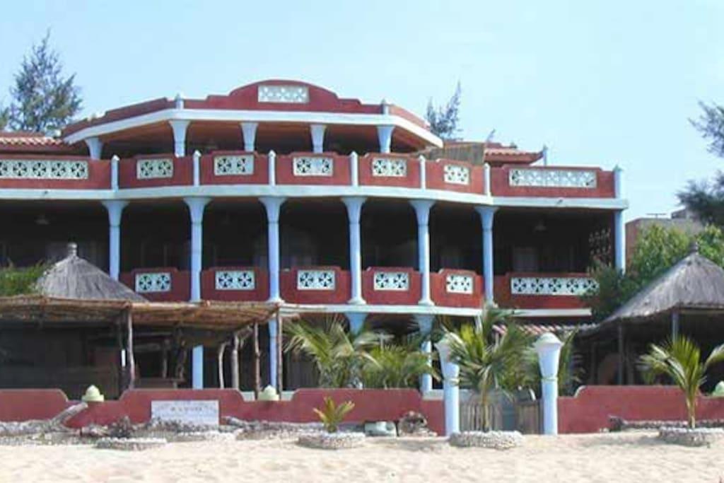 résidence Keumaya directement sur la plage