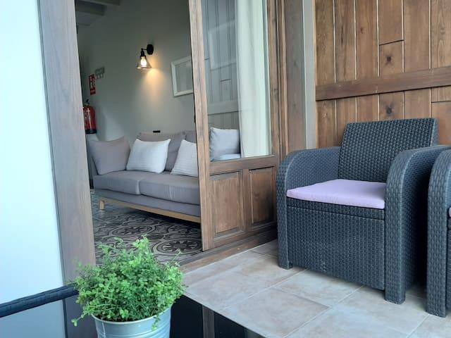 Apartamentos El Llanin (loft con terraza 2 5)