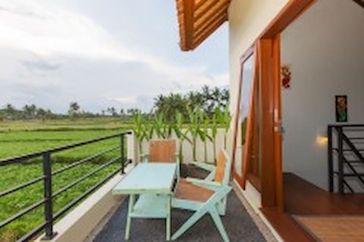 SUPER DELUXE WITH BALCONY RICEFIELD VIEW 305 - Ubud - Villa
