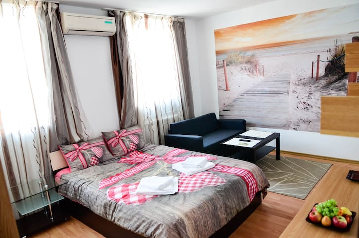 Cozy Studio for up to 4 Persons – Grivita Metro