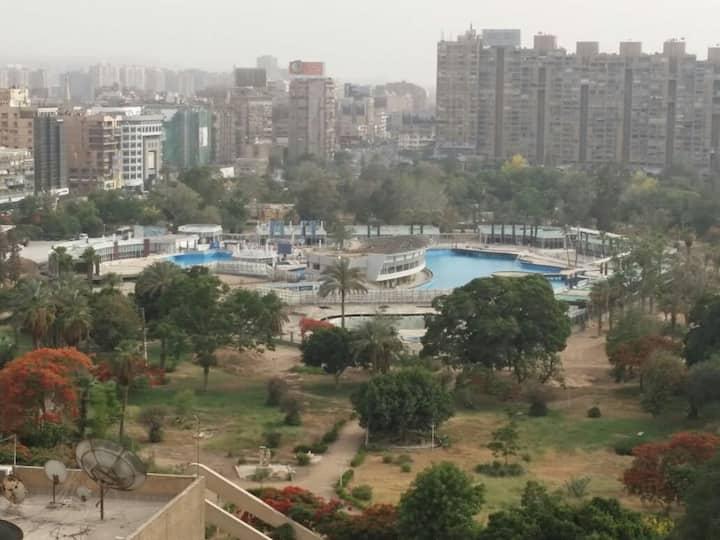 17th floor cairo view