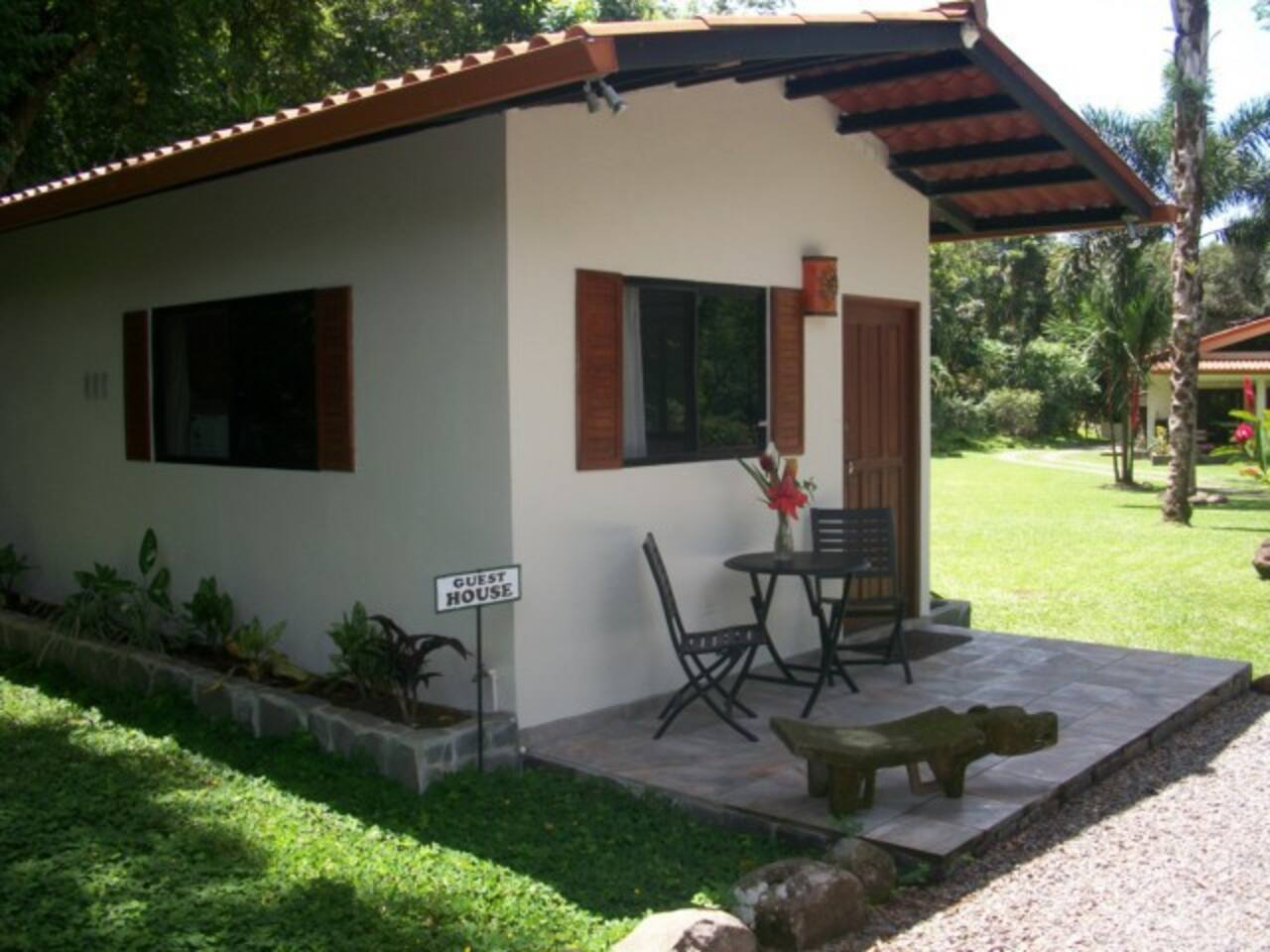 GUEST HOUSE IS AT THE ENTRANCE OF RIO ENCANTADO