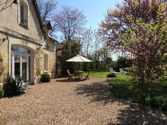 Val de Loire - Faye-la-Vineuse - House