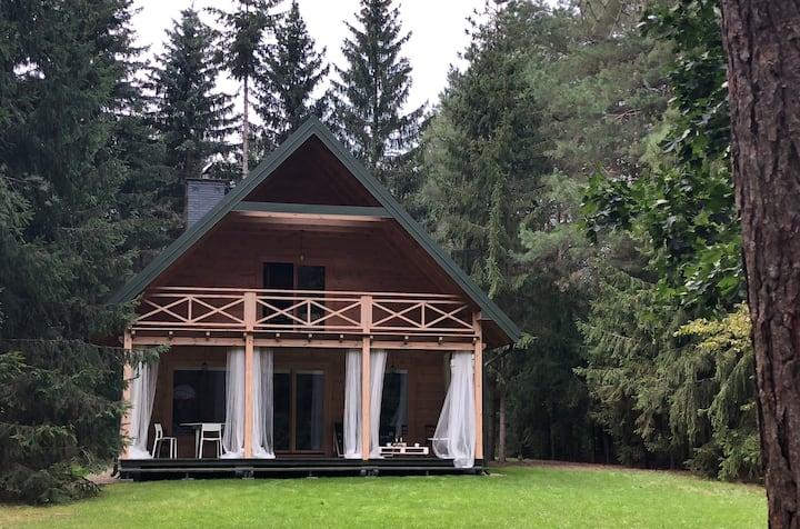 Raj w lesie