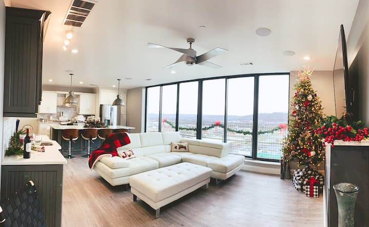 Sky Loft on 10 . 2 bed . 2 bath + Modern luxuries