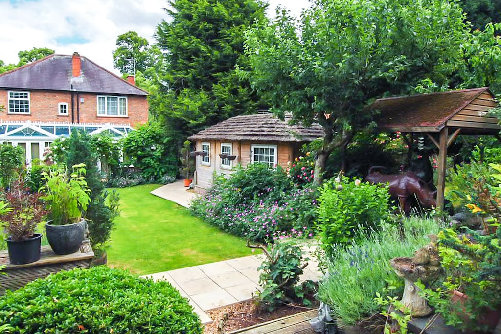 Stunning landscaped gardens  for you to enjoy