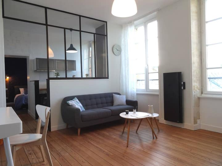 Bayeux : grand appartement 50 m2 centre ville