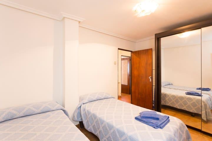 Habitacion comoda y silenciosa - Logroño - Pis