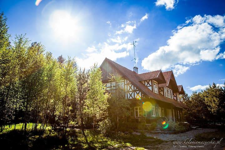 Siedlisko na granicy Warmii i Mazur - Olsztynek - Dům