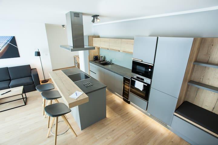 3-Zi.-Apartment neu, hell, modern, zentral | 101