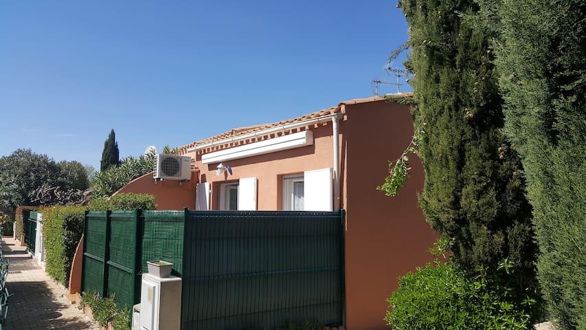 Maisonnette avec Parking Terrasse et Climatisation - Agde - Hus