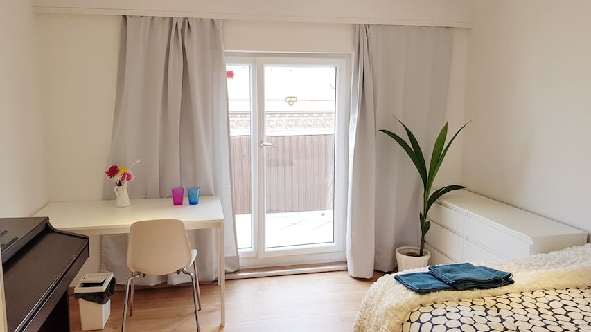 City center in 20min  Room for 2 with balkony