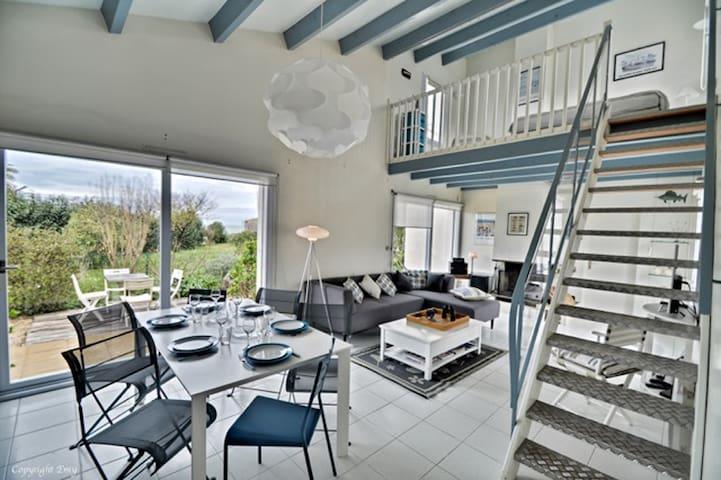 Villa de la Cible, Beach, Garden and SPA - Saint-Martin-de-Ré - 別荘