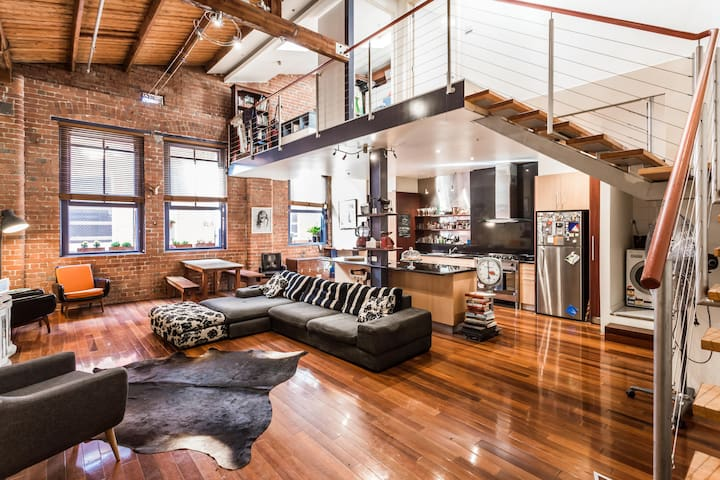 The Oxford - Warehouse Conversion Collingwood - Collingwood - อพาร์ทเมนท์