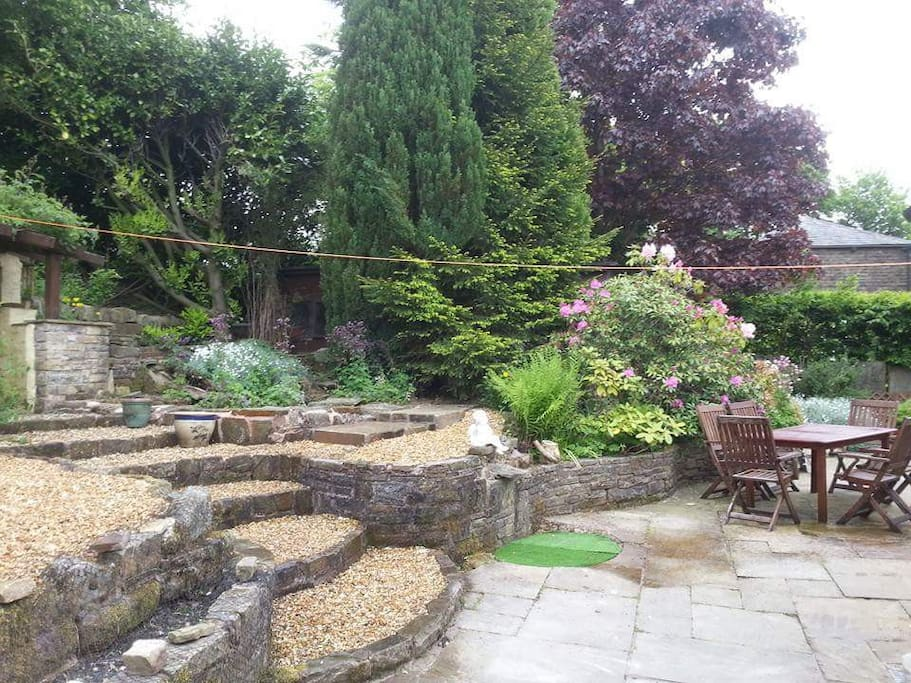 Rear Garden other view.