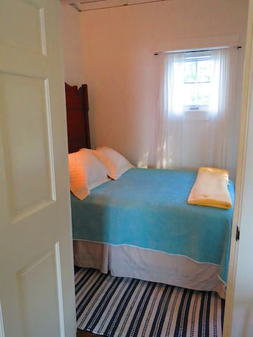 Main Cottage features one full size bedroom