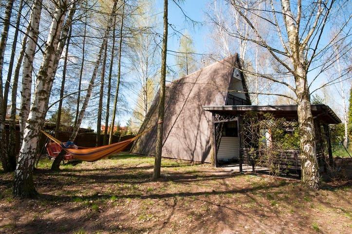 Halunia -Domek jezioro Głuszyńskie - Orle - บ้าน