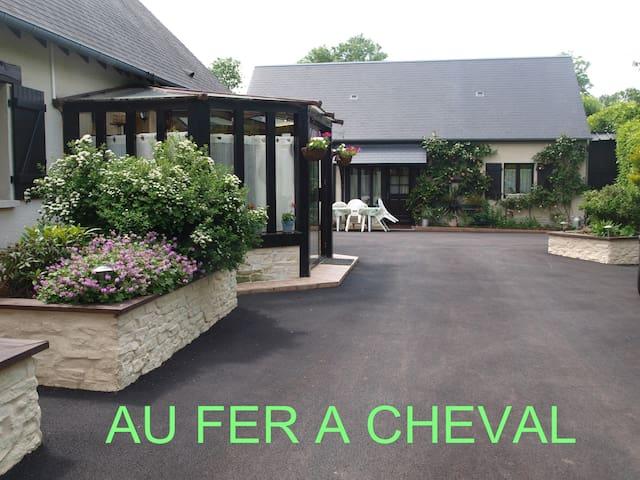 gîte entre cabourg et deauville - Beaufour-Druval - House