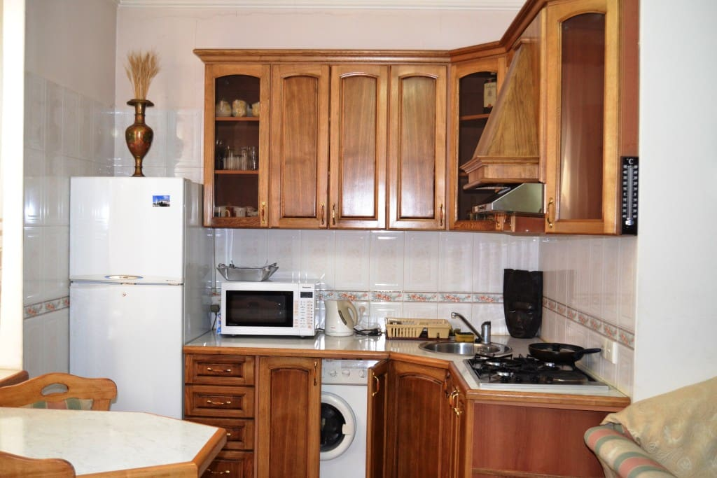 Pleasant, convenient, comfortable and affordable flat. Apartment located in the center of Yerevan, near touristic attractions. Owners are most helpful and always ready to meet all reasonable requests.
