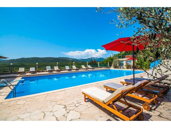 Villa Krnic - Olympic pool, Lounge bar, Party club
