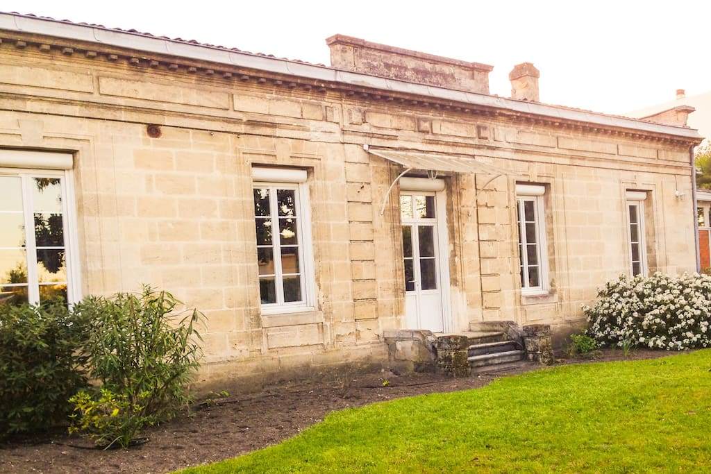 Chartreuse 10mn centre bordeaux maisons louer for Maison louer bordeaux
